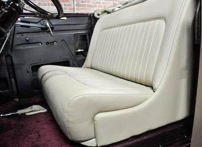 Stewart's Kustom custom Ford interior